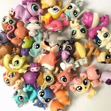 Random 15PCS MINI Doll Littlest Pet Shop Dog Cat Child Girl Toys LPS GIFT QA125