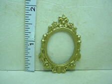 "Dollhouse Miniature Picture Frame  - #13 Painted Metal 1/12"" Scale"