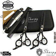"6.5"" LEFT HAND SET PRO SALON HAIRDRESSING HAIR CUTTING THINNING BARBER SCISSORS"