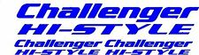 3 x CHALLENGER HI-STYLE CARAVANE SWIFT/CAMPING-CAR STICKERS AUTOCOLLANTS