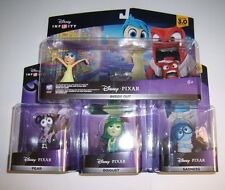 DISNEY INFINITY 3.0 Inside Out Playset Bundle Joy Anger Fear Disgust Sadness New