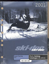 2001 SKI-DOO GRAND TOURING 800 SNOWMOBILE PARTS MANUAL