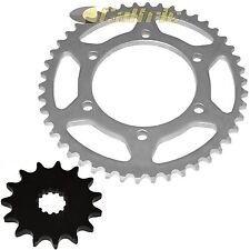 Front & Rear Sprockets Fits SUZUKI GSX-R600 GSXR600 1998-2000