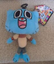 "THE AMAZING WORLD OF GUMBALL BLUE 6"" WATTERSON PLUSH"