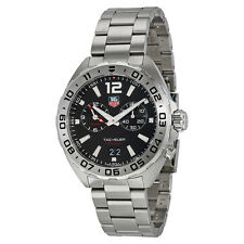 Tag Heuer Formula 1 Chronograph Black Dial Stainless Steel Mens Watch