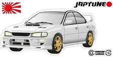 Subaru WRX Impreza  V1 - White with Factory Gold Rims - JDM - JapTune Brand