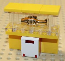 Lego Yellow Fishtank with Gold Fish NEW!!!