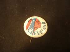Old Vtg Collectible Cleveland Indians Baseball MLB Pin Button
