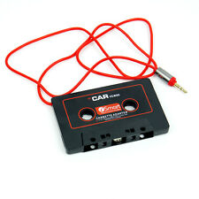 3.5mm - Car Audio Tape Cassette Adaptor Adapter For Mp3 CD to Car Stereo Player