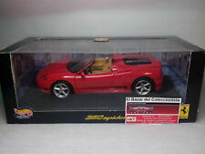 1/18 Ferrari 360 F360 Spider   - HOT WHEELS - 3L050