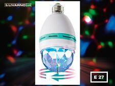 Motorbetriebener Rotierender Partylampe Partyleuchte LED E27 RGB  LIchteffekt