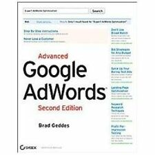 Advanced Google AdWords, Second Edition, Geddes, Brad, Good Condition, Book