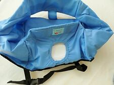 Toddler Baby Deluxe High Chair Cover Dining Out Travel  by Classy Kid Inc Blue