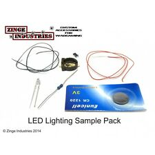 Zinge Industries LED Model Electrical Sample Pack Electronics New E-ESP01