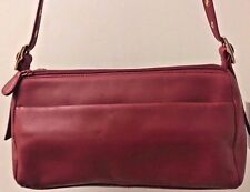 ETIENNE AIGNER Red Leather Cross Body Handbag Americana Collection NWT