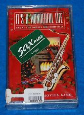 It's a Wonderful Life Sax At The Movies Cassette, New & Factory Sealed