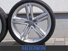 Sommerräder für Audi Q5 8R 8R1 235 55 19 Zoll Alufelgen MAM ABE silber