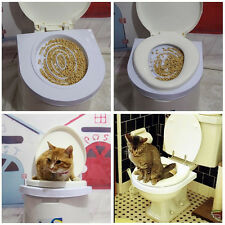 Cat Toilet Training Kit Plastic Mat 2016 Pet Supplies For Training and Behaviour