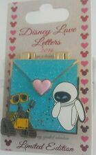 DISNEY WALL-E and EVE LOVE LETTERS PIN OF THE MONTH SERIES LE PIN