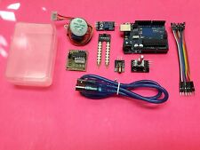 UNO R3 BOARD, LEARNING KIT 7, SENSORS, CABLES, AND MORE ARDUINO COMPATABLE
