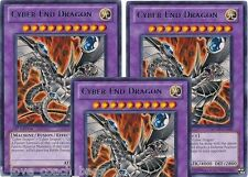 Cyber End Dragon RYMP Rare X *3* RA YELLOW MEGA PACK YU-GI-HI! Mint Cards