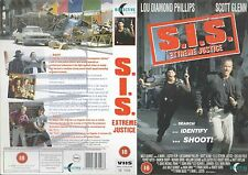 S.I.S. Extreme Justice, Scott Glenn Video Promo Sample Sleeve/Cover #15617