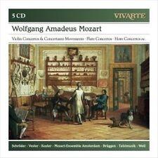 Mozart: Violin Concertos & Concertante Movements, Flute Concertos, Horn Concerto