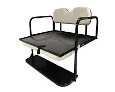 "Club Car Precedent (2004-UP) Golf Cart ""Classic"" Rear Flip Back Seat Kit"