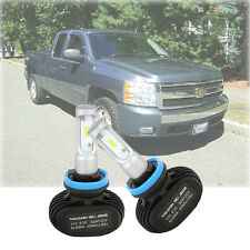 LED Headlight Headlamp Bulb Conversion Kit for Chevy Silverado 2007-2013
