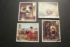 GB Jersey 1971 Commemorative Stamps~Paintings ~Very Fine Used Set~UK Seller