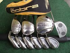 King Cobra Adams Irons Driver Wood Hybrid Mizuno Putter Complete Golf Club Set *