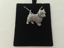 D1 Westie on a 925 sterling silver Necklace Handmade 16 inch chain