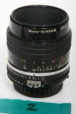 Nikon Micro-Nikkor 55mm f2.8 Lens AIS Mount  + PK-13 tube = 1:1 focusing