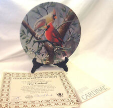 Edwin Knowles Kevin Daniel The Cardinal Encyclopedia Britannica Garden Plate 1St