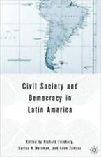 Civil Society and Democracy in Latin America-ExLibrary