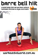 Kettlebell Barre HIIT EXERCISE DVD - Barlates Body Blitz BARRE BELL HIIT!