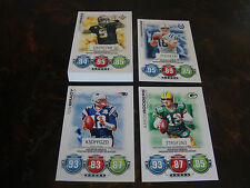 2010 Topps Attax Football--Code Cards--Lot Of 25--No Dupes--Multi-Lots--See List