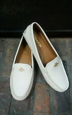 Coach Amber Women's Loafers Shoe/  White Chalk / Size 7.5 / New without Box