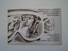 advertising Pubblicità 1975 OCCHIALI PER MOTO BARUFFALDI