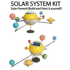 NEW Build & Paint It Yourself Solar System Kit Model Hobby Educational Kit