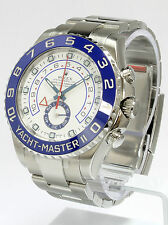 Rolex Yachtmaster II Stainless Steel Blue Bezel 116680 Brand New in Box