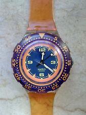 """orologio swatch SCUBA 200 modello """"RED ISLAND""""SDK 106 anno 1992 USATO"""