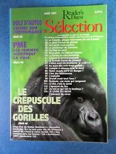 Selection   Reader's Digest Magazine Aout 1997 Francais  Neuf