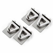 4PC CNC Trim Tabs 51mm X 38mm Set for R/C Boat Small - Medium Size