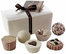Bomb Cosmetics Chocolate Ballotin Assortment Bath Gift Set