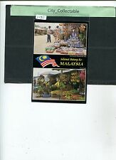 P696 # MALAYSIA USED PICTURE POST CARD * FRUIT & HANDICRAFT STALLS