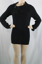 100% AUTHENTIC NEW WOMENS GUESS TURTLE NECK CONVERTIBLE SWEATER SIZE  M