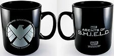 MARVELS AGENTS OF SHIELD LARGE 20 oz CERAMIC COFFEE CUP MUG S.H.I.E.L.D. NEW
