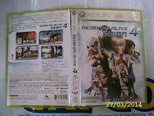 XBOX360 GAME DEAD OR ALIVE 4 (ORIGINAL USED)