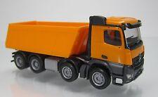 Herpa LKW  302517  Mercedes-Benz Arocs M Meiller-Kipper 4-achs orangegelb